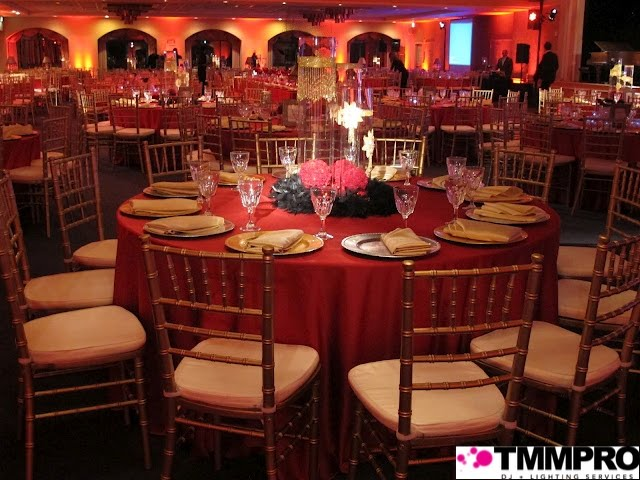 A Scarlet Red Gold Theme Wedding Ararat Home Mission Hills For 500 Ppl