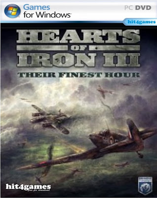 Hearts of Iron 3 Their Finest Hour Standalone