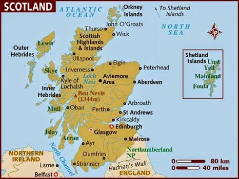 Majoriti Rakyat Scortland Pilih Kekal dalam UK