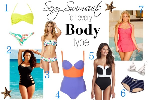 Babblings of a Mommy: Sexy Swimsuits For Every Body Type