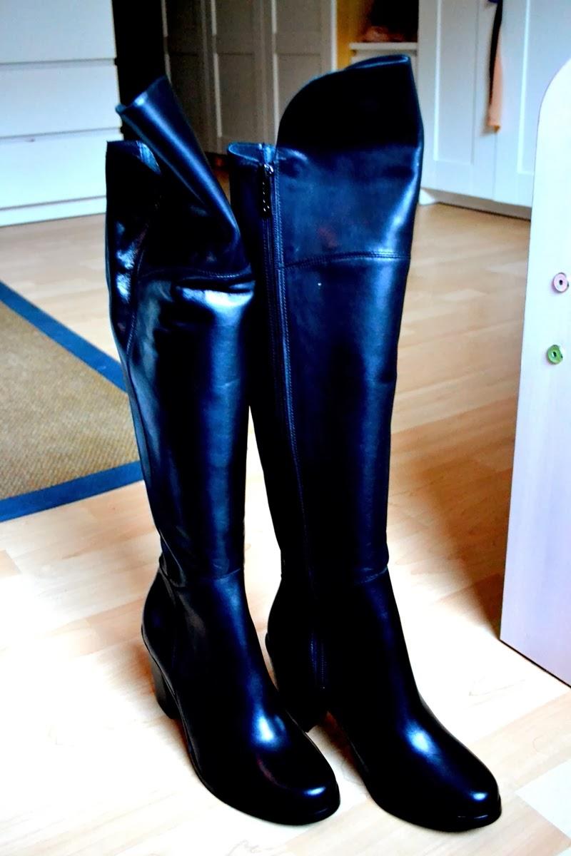 blaack duo boots fashion myberlinfashion jasmin