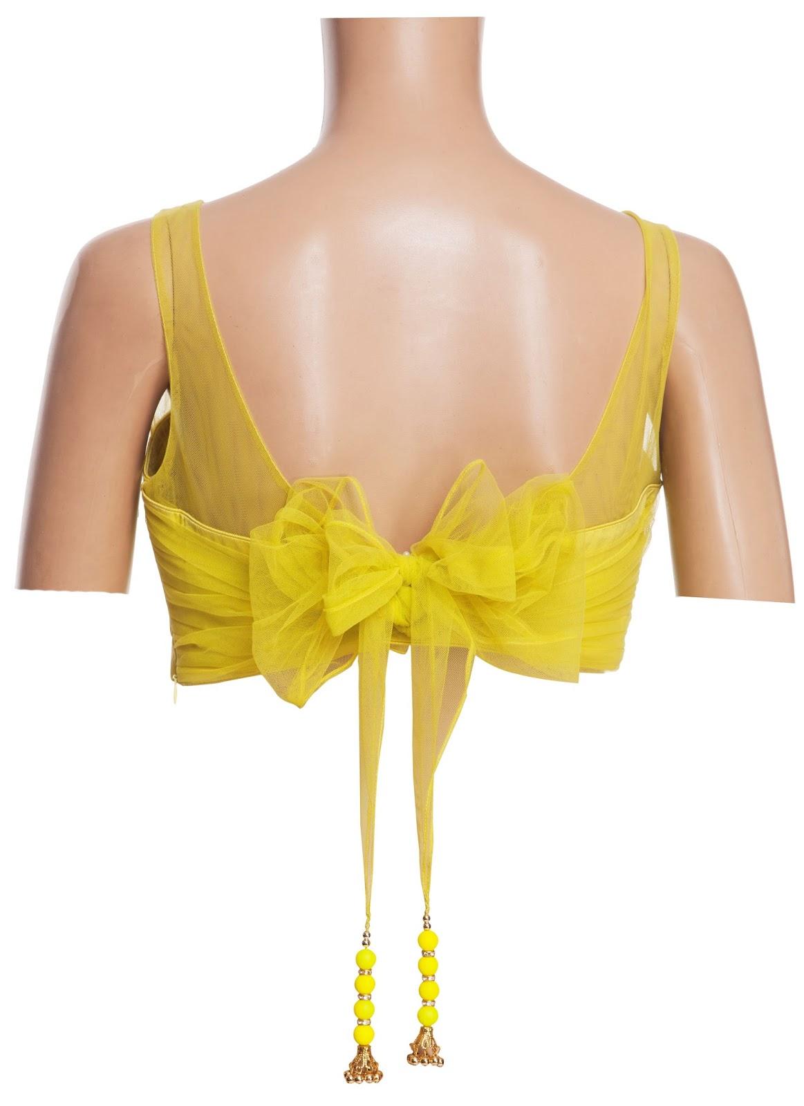 Chiffon Tie Neck Blouse