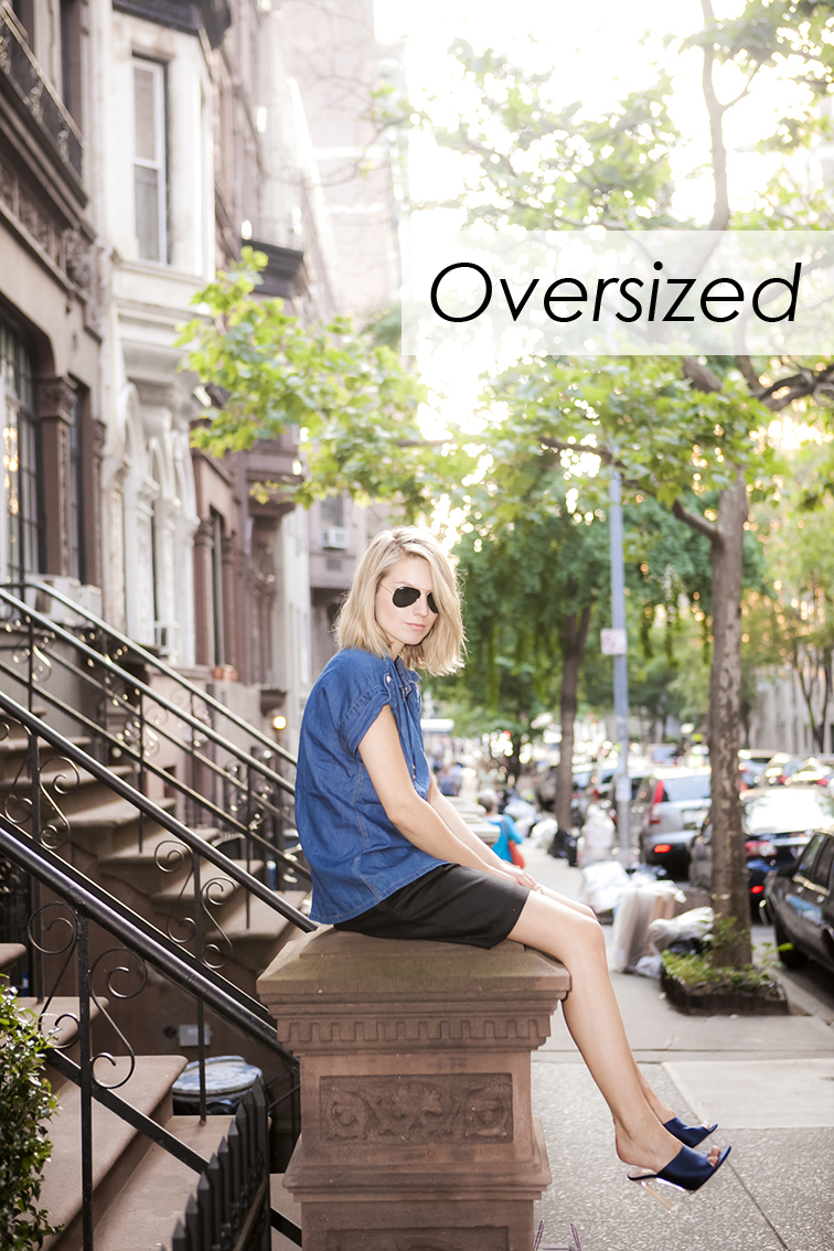 Fashion Over Reason, Upper West Side brownstone, New York City tree-lined street, summer days, fashion blogger, style blogger, black & navy