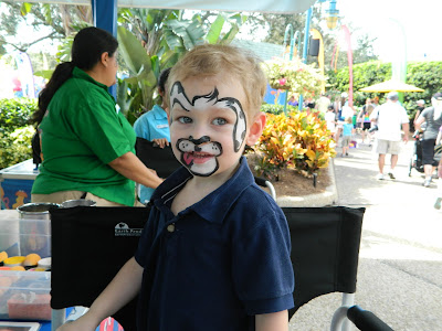 Puppy Face Paint