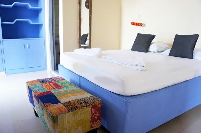patchwork kantha bed bench