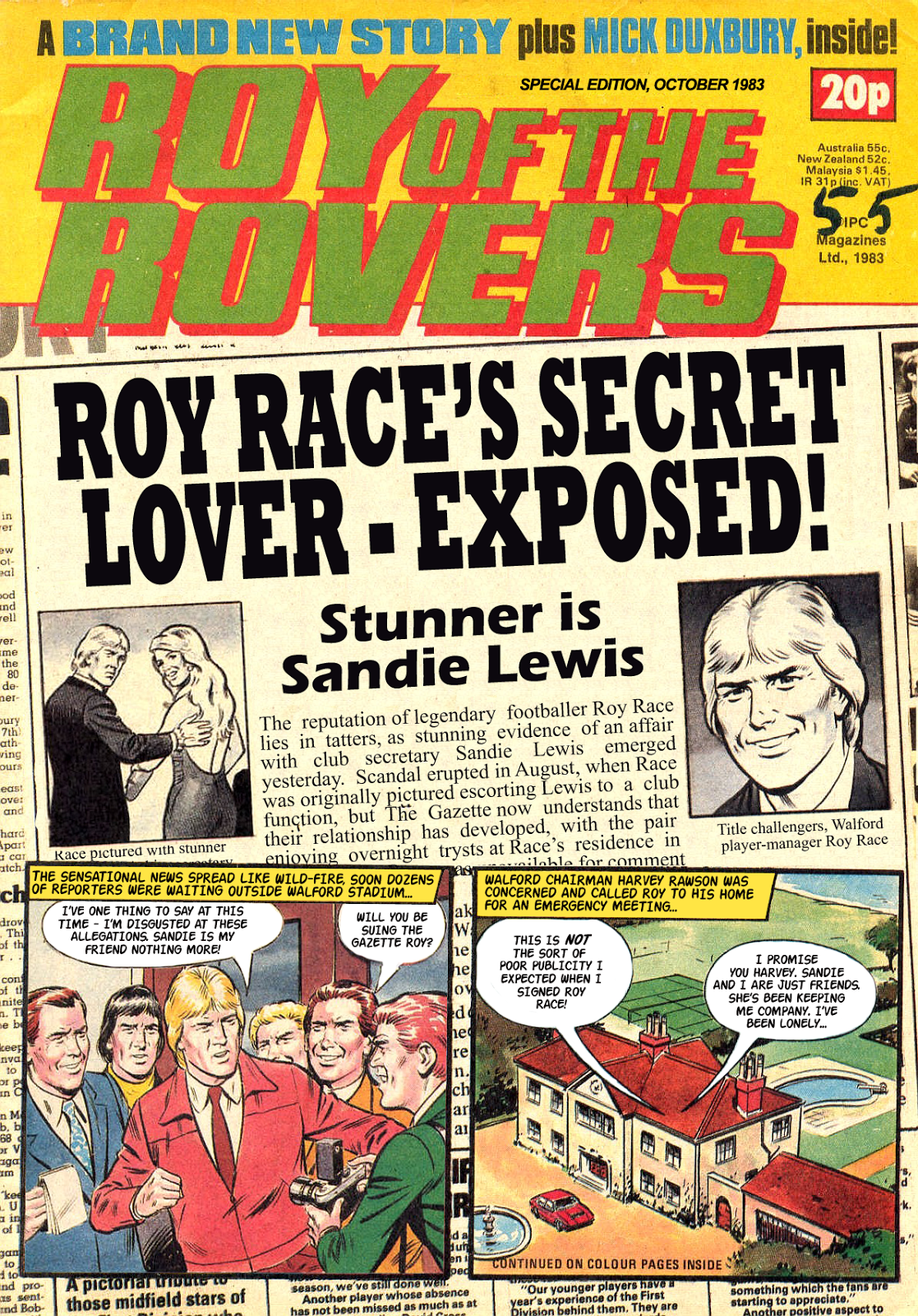Roy of the Rovers - Roy's Affair Part 2
