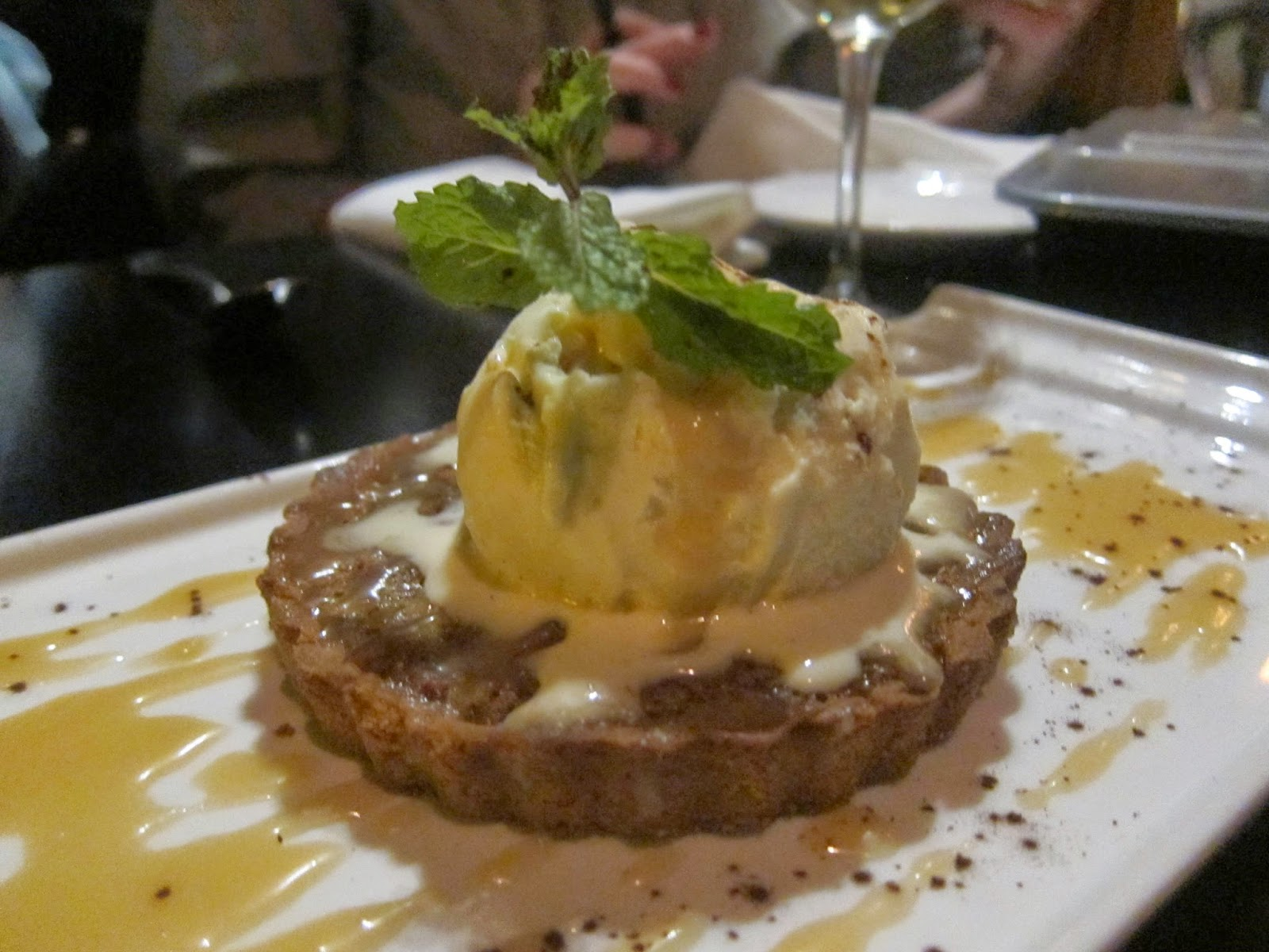 Warm Pecan Pie at Orta | The Economical Eater