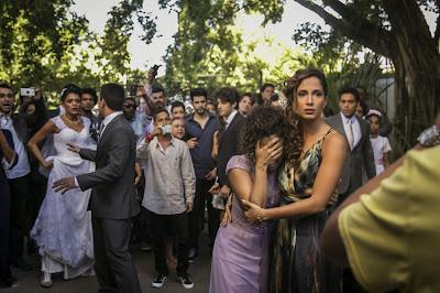 Casamento acaba em barraco Crédito: Globo/Paulo Belote