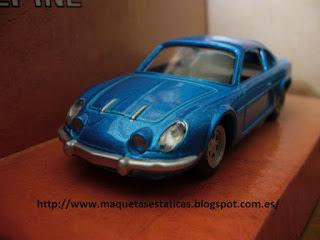diecast car Renault Alpine