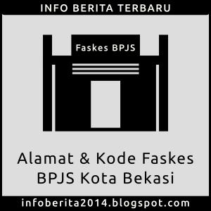 Alamat dan Kode Faskes BPJS Kota Bekasi