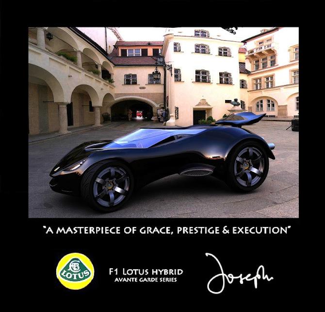 Car Modelling: F1 Lotus hybrid