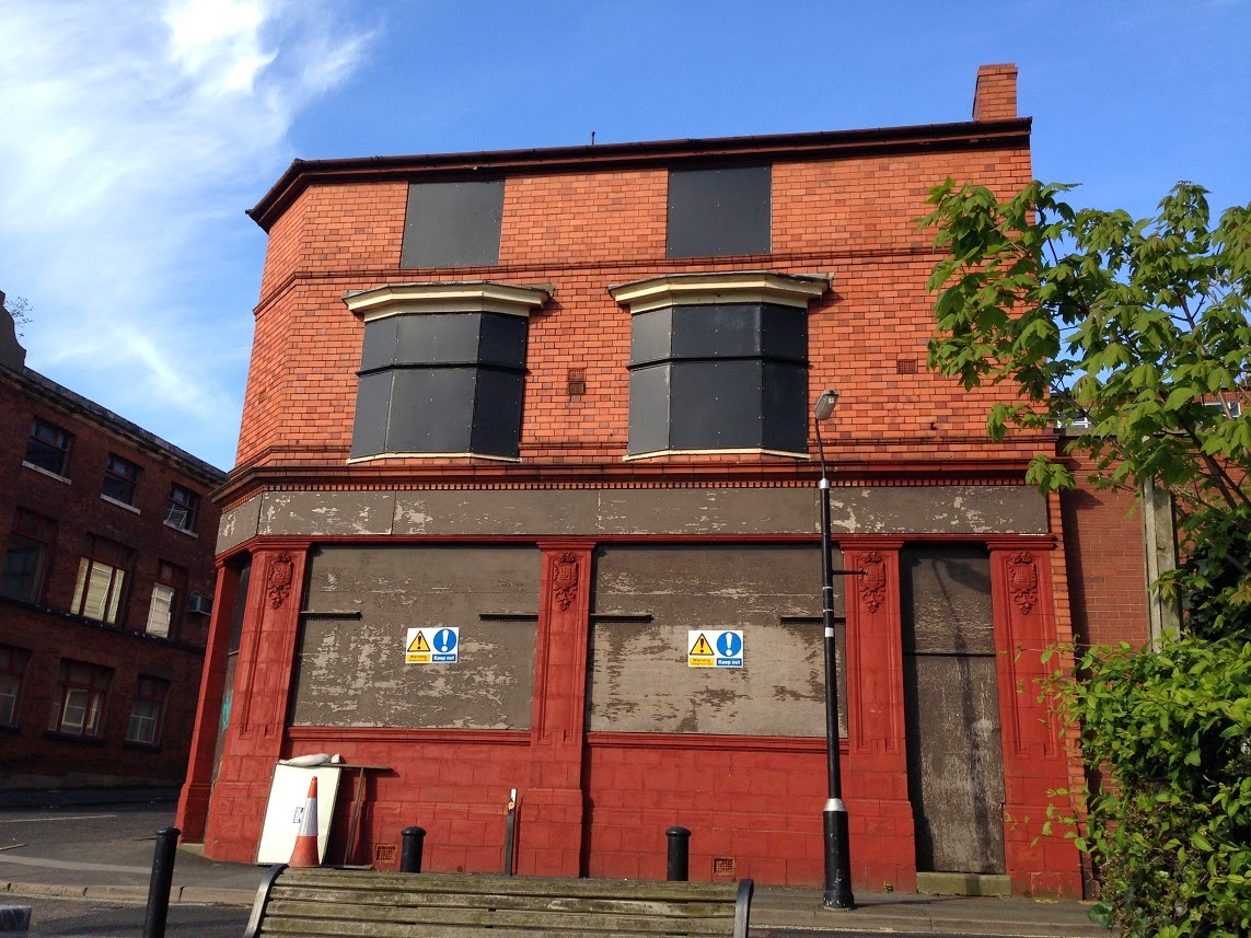 Abandoned pub, Jewellery Quarter, Birmingham