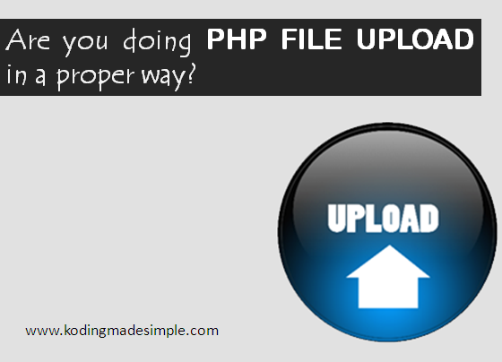 how to upload files in php