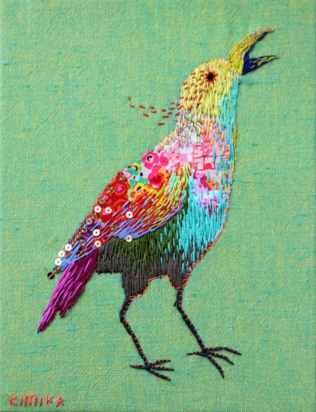 http://www.buzzfeed.com/summeranne/magical-embroidered-animals-by-kimika-hara