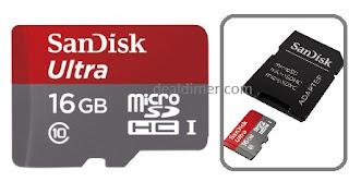Sandisk-Ultra-microSDHC-UHS-I 16GB-Class-10