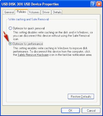 cara format flashdisk ke NTFS file system