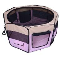 Box per animali - Recinzione per cuccioli - Cuccia , dimensioni: 125 x 125 x 58 cm