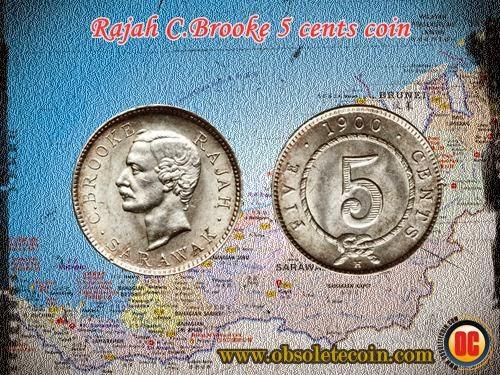 c.brooke 5 cents