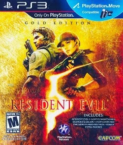 Resident Evil 5: Gold Move Edition – PS3