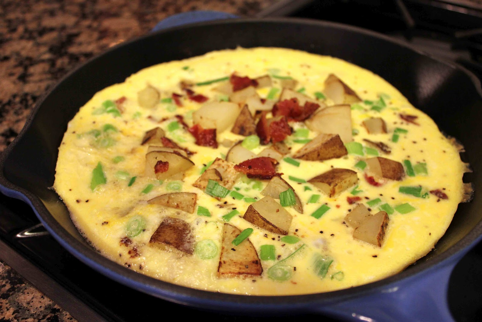Country French Omelette – Dallas Duo Bakes