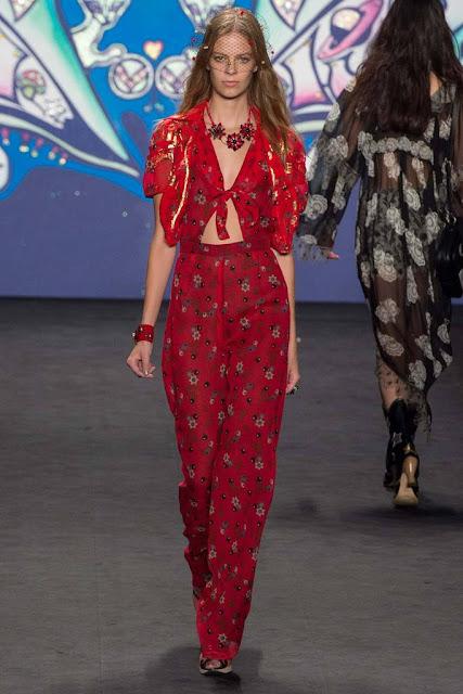 Faldas largas Anna Sui SS 2015