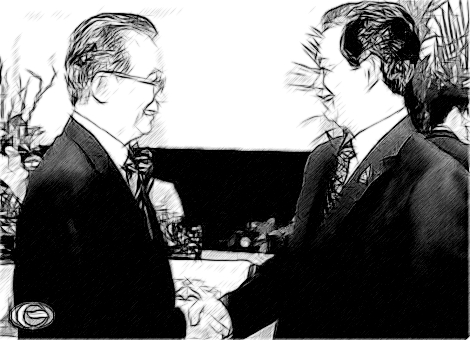 Thủ tướng Nguyễn Tấn Dũng tiếp  Thủ tướng Trung Quốc Ôn Gia Bảo