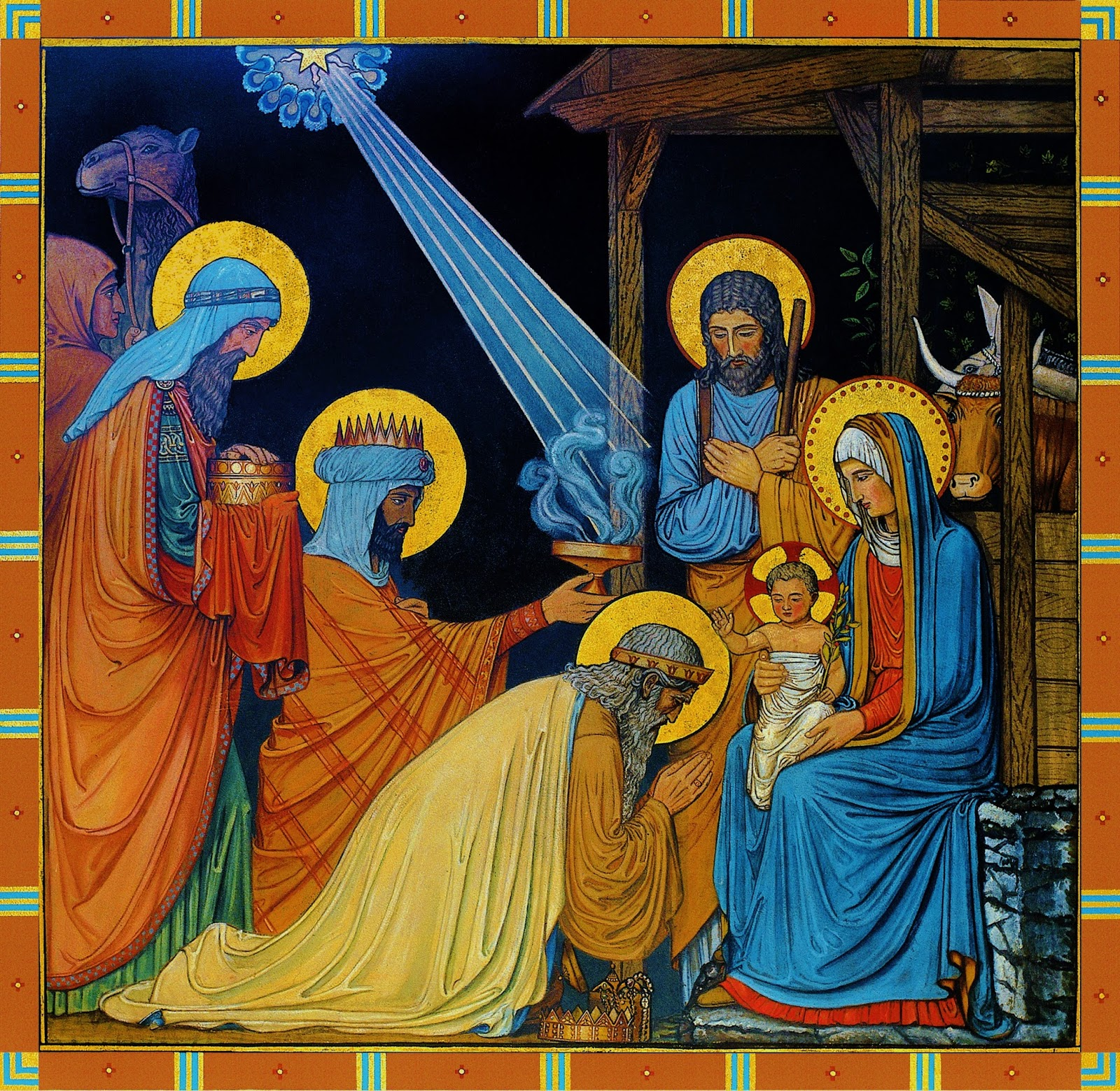 Solemnity of the Epiphany of the Lord dans immagini sacre epiphany