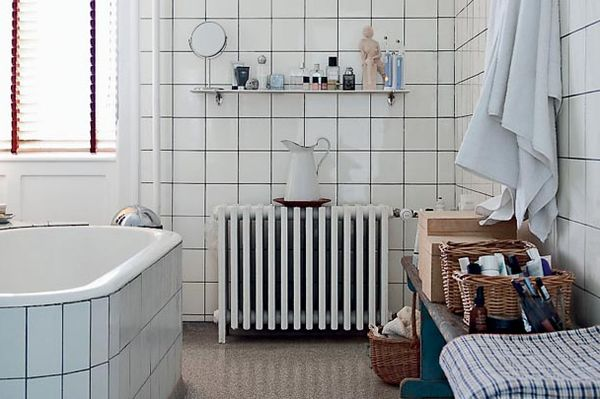 Zwarte Tegels Badkamer : Donkere voeg badkamer u devolonter