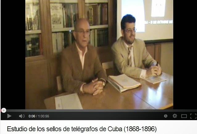 ESTUDIO DE LOS SELLOS DE TELÉGRAFOS DE CUBA (EUGENIO DE QUESADA)