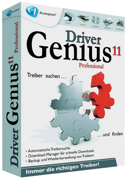 Driver Genius Professional Edition v11.0.0.1150 + Crack