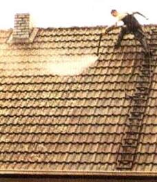 Защита черепичной крыши водой