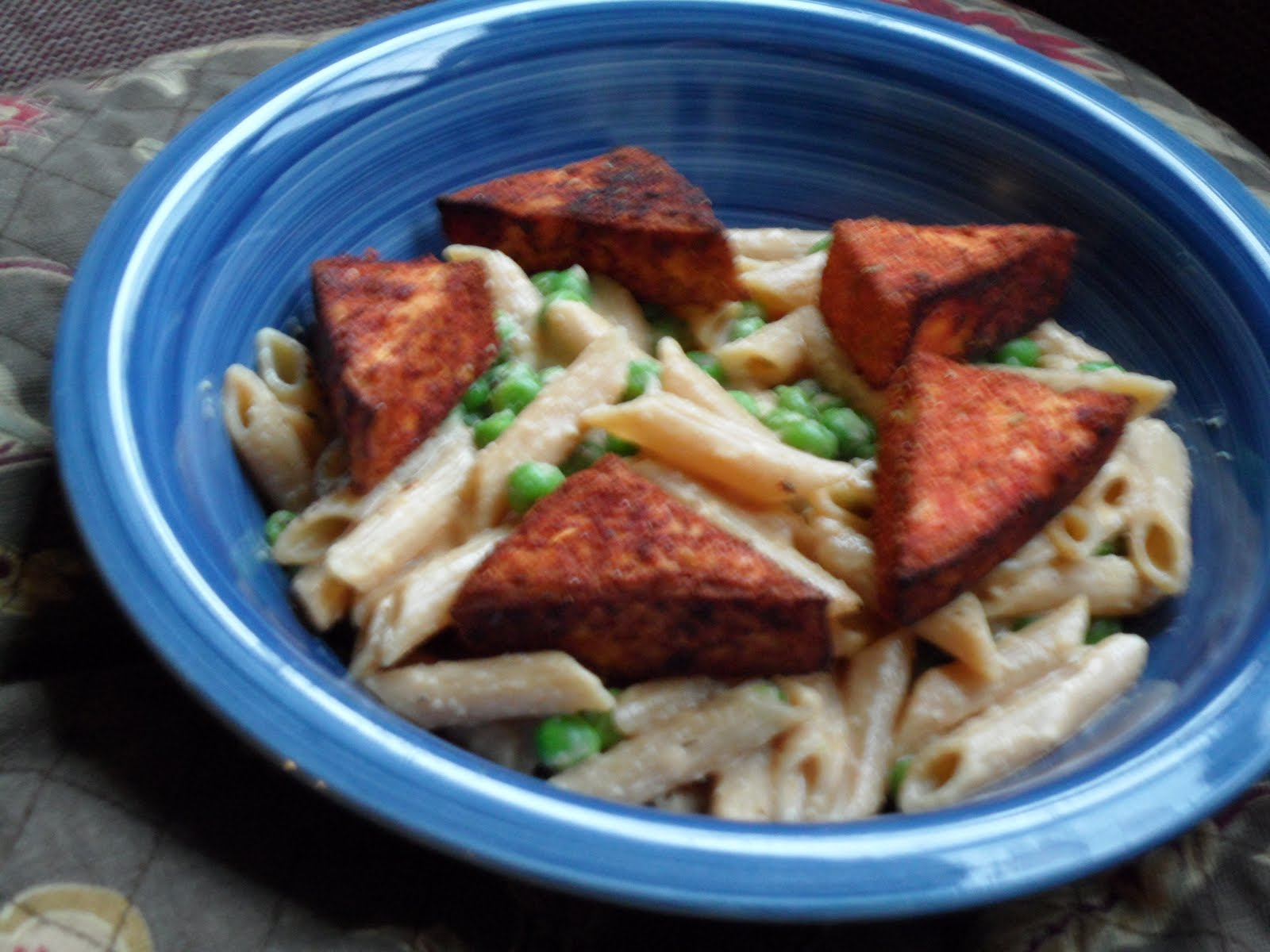 Something out of nothing blackened tofu in cajun cream sauce the that being said i think i recognize food as my greatest passion but i could write a series of posts on that onto my recipe forumfinder Images