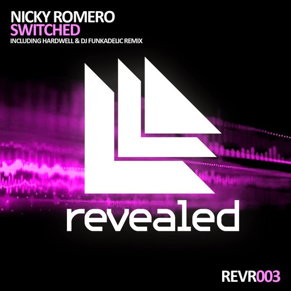 Nicky Romero - Switched - Single Cover