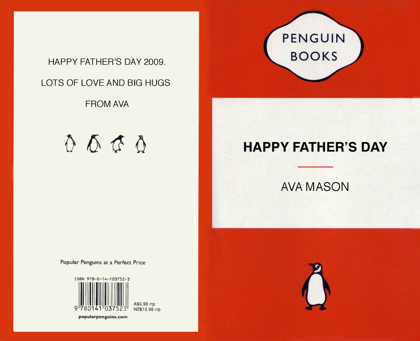 Father's Day: Penguin Book