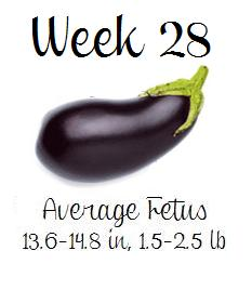 Mom Mart Pregnant Week 28