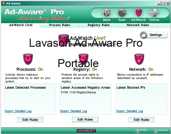 Lavasoft Ad-Aware Pro Activation Key Portable Patch Free Download