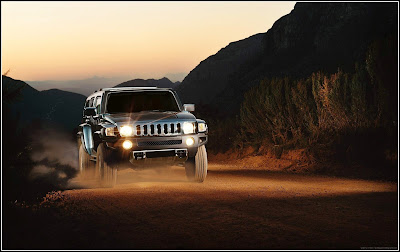 Best HD Hummer Modification With Sunset - Hummer Cars Modification wallpaper