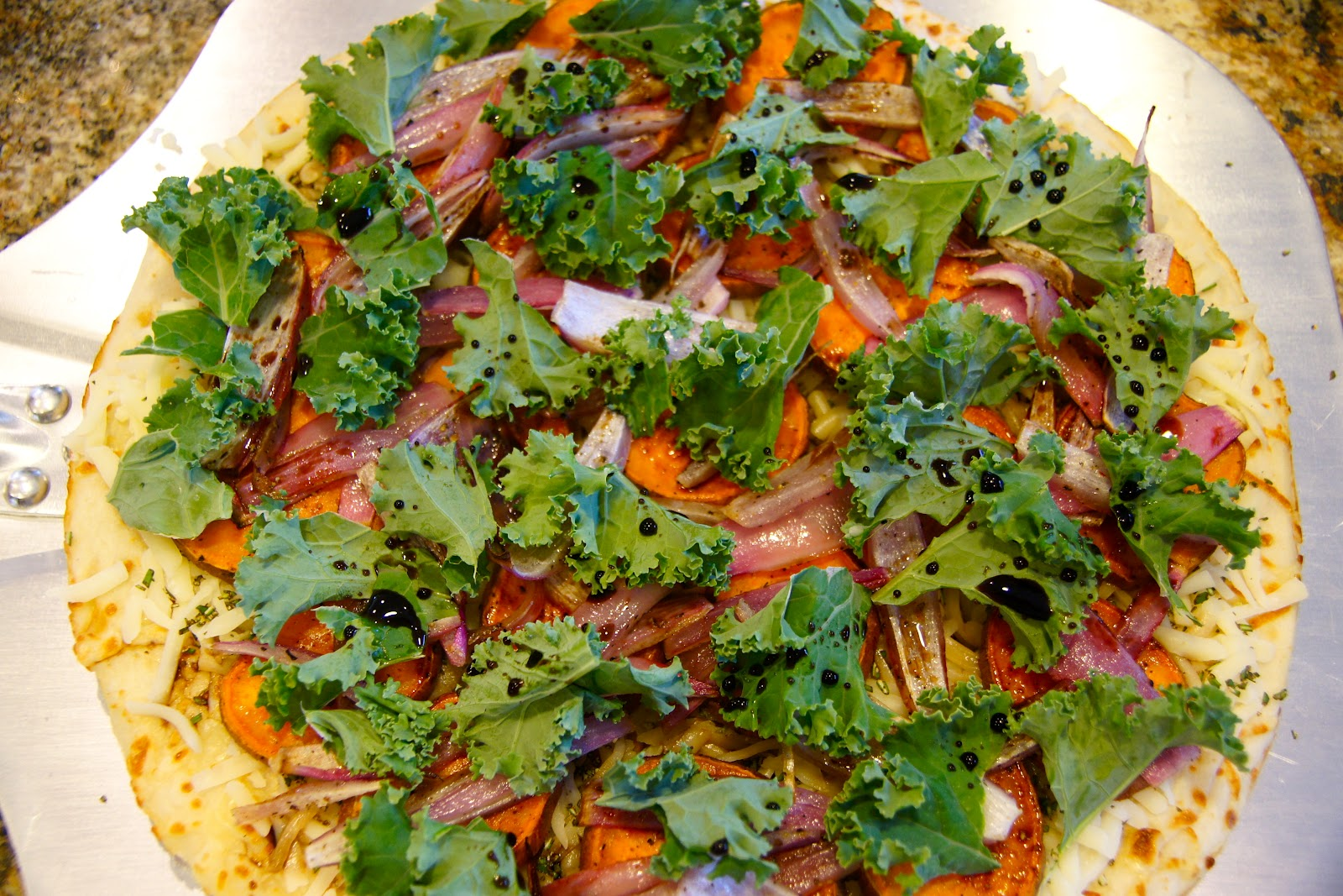 Family Food Finds: Sweet Potato Kale Pizza with Rosemary ...