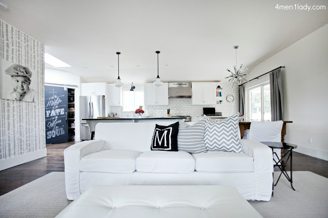 As You Can See I Have White Slipcovered Sofas. When I Originally Purchased  The Sofas The Saleu0027s Person Highly Recommended Microfiber Saying It Was  Really ...
