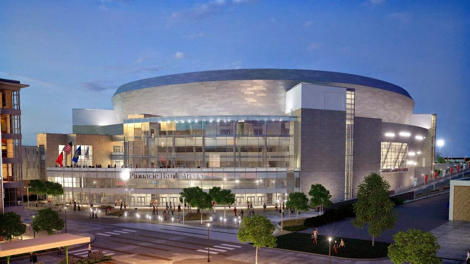 Smg World Pinnacle Bank Arena Named Best Arena In College