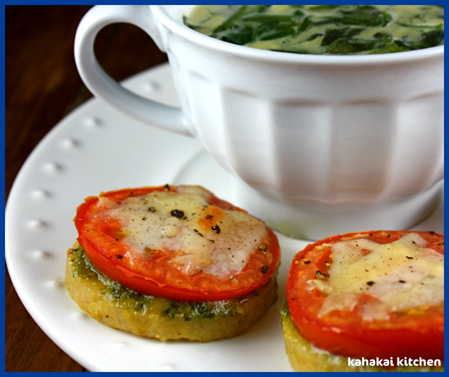 Kahakai Kitchen: Cream of Spinach Soup (& Polenta Pizzas with Shaved ...