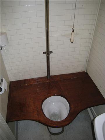træk og slip toilet