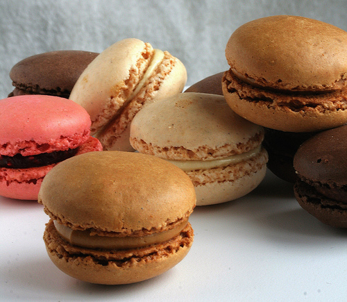 Serve andenjoy the French Macaroons Recipe Dessert