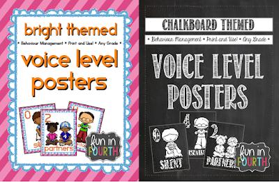 https://www.teacherspayteachers.com/Product/Voice-Level-Posters-Chalkboard-Themed-1385643
