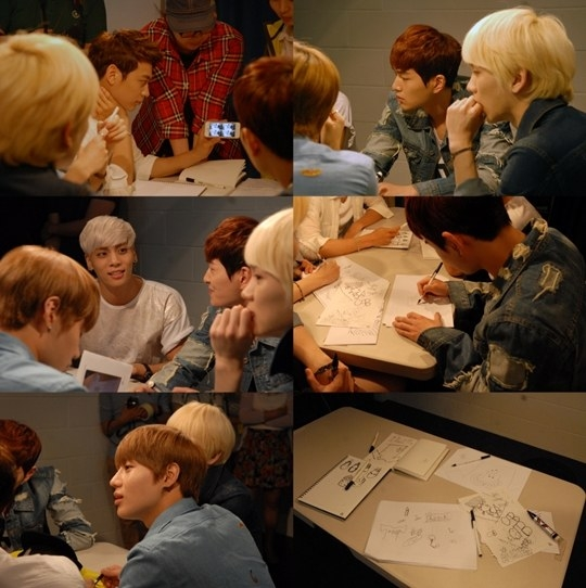 Shinee designs for skechers