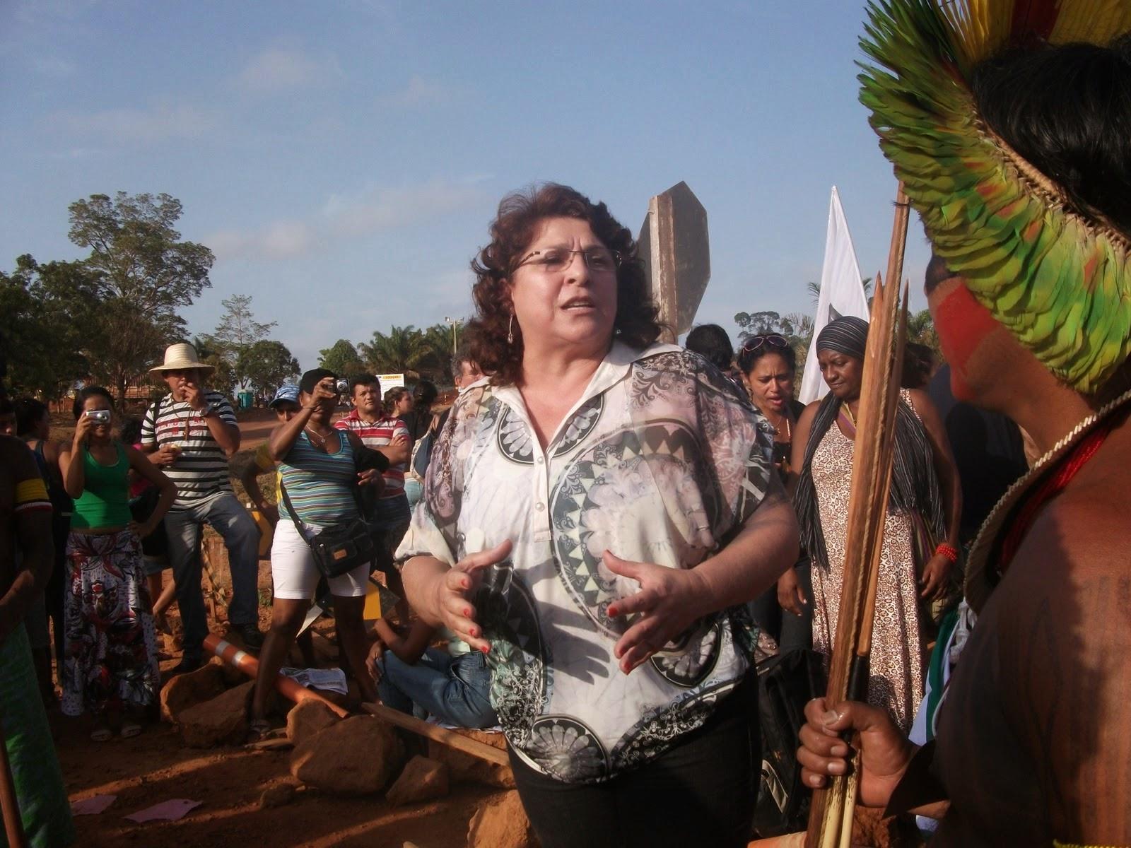 Na luta com os Povos do Xingu