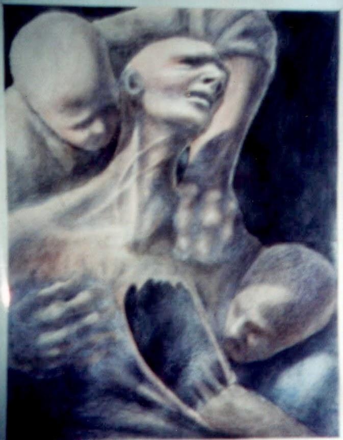 """Serie de dibujos """"El Apocalipsis de Abisay"""" de Abisay Puentes"""