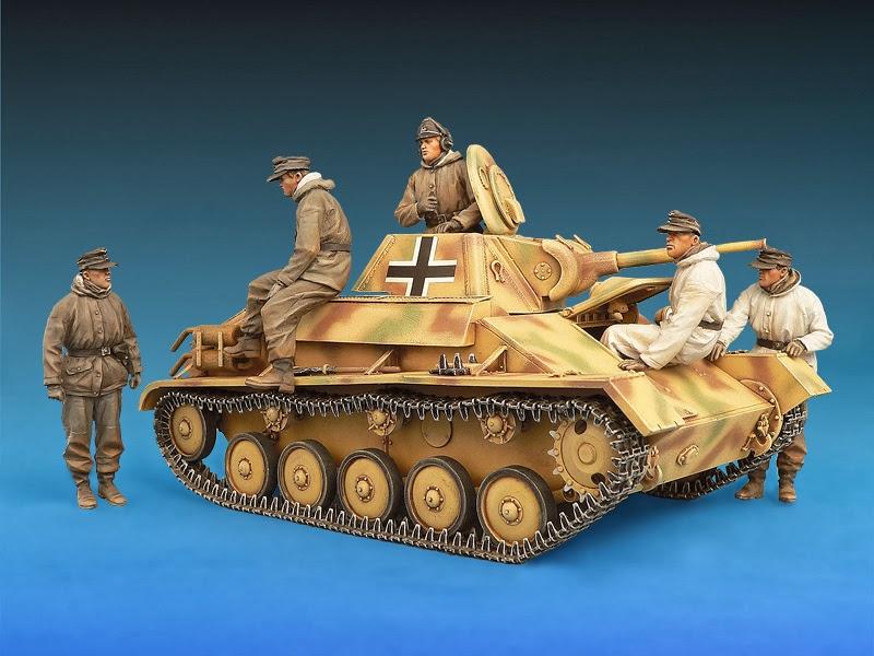 ... 70M & ZIS-3 w/CREW MiniArt 1:35 Model Kit review Light tank ref. 35056