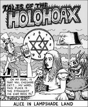 Image result for FAKE Holocaust CARTOON