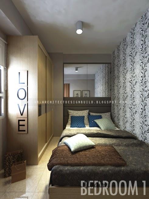 Interior Apartemen Puncak Kertajaya